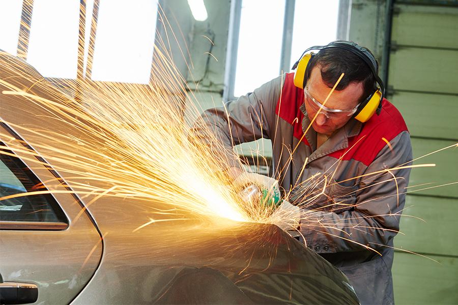 Aluminum Auto Body Repair The Collision Star
